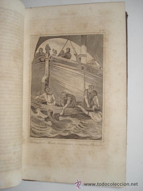 Libros antiguos: LES AVENTURES DE TELEMAQUE FILS D'ULYSSE - 1863 FRANCIA - GRABADOS - Foto 4 - 43980543