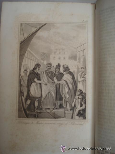 Libros antiguos: LES AVENTURES DE TELEMAQUE FILS D'ULYSSE - 1863 FRANCIA - GRABADOS - Foto 6 - 43980543