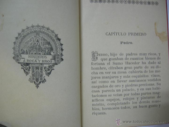 Libros antiguos: LA IGNORANCIA CASTIGADA NOVELA ESCRITA POR EL C. CRISTOBAL SCHMID - 1900 - Foto 5 - 44008071