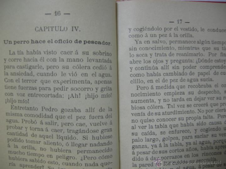 Libros antiguos: LA IGNORANCIA CASTIGADA NOVELA ESCRITA POR EL C. CRISTOBAL SCHMID - 1900 - Foto 6 - 44008071