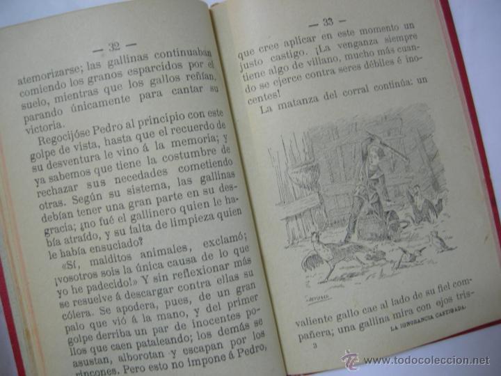 Libros antiguos: LA IGNORANCIA CASTIGADA NOVELA ESCRITA POR EL C. CRISTOBAL SCHMID - 1900 - Foto 7 - 44008071