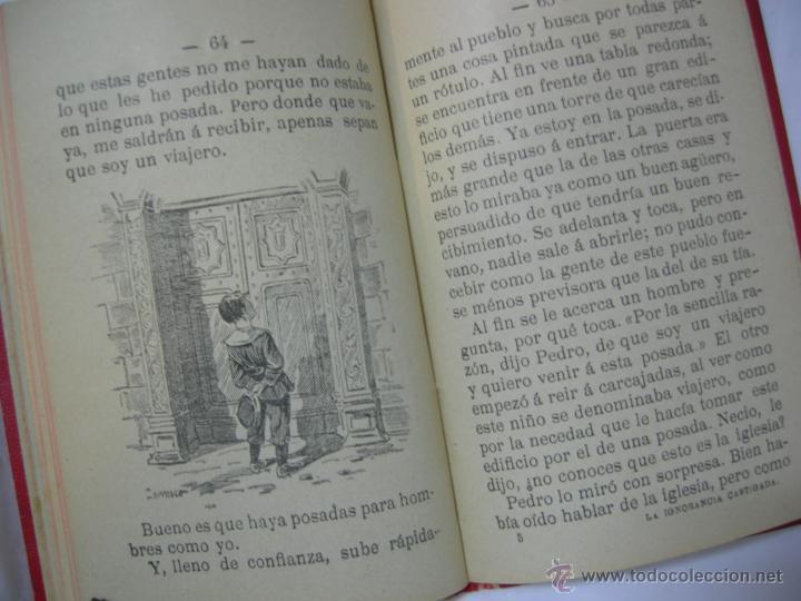 Libros antiguos: LA IGNORANCIA CASTIGADA NOVELA ESCRITA POR EL C. CRISTOBAL SCHMID - 1900 - Foto 8 - 44008071