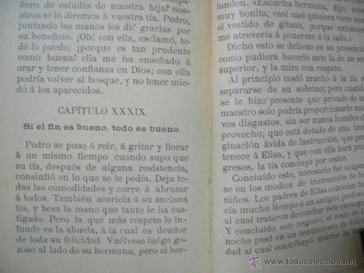 Libros antiguos: LA IGNORANCIA CASTIGADA NOVELA ESCRITA POR EL C. CRISTOBAL SCHMID - 1900 - Foto 9 - 44008071