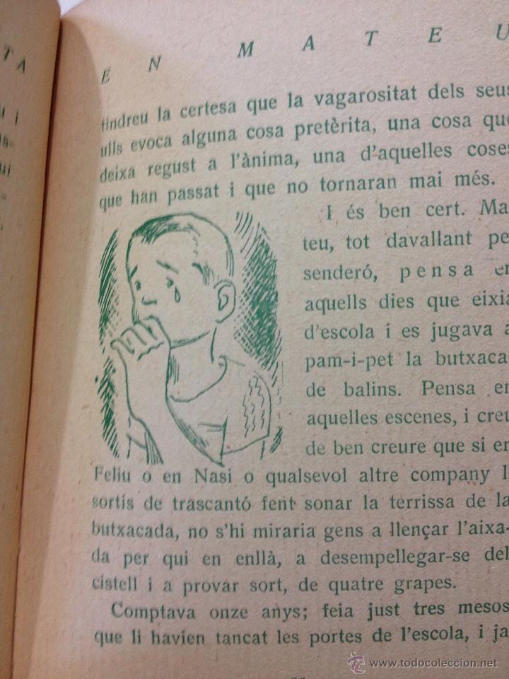 Libros antiguos: Herois de Calça Curta - Josep Miracle. EN MATEU,... . Editorial Poliglota. Ilustra Josep Obiols. - Foto 3 - 44143860
