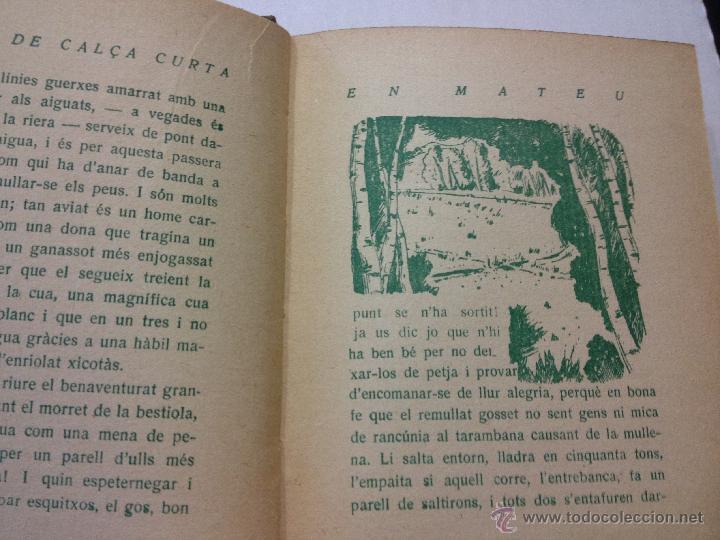 Libros antiguos: Herois de Calça Curta - Josep Miracle. EN MATEU,... . Editorial Poliglota. Ilustra Josep Obiols. - Foto 5 - 44143860