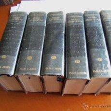 Libros antiguos: W.SOMERSET MAUGHAM--OBRAS COMPLETAS EN 6 TOMOS-. Lote 44673745