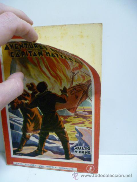 Libros antiguos: AVENTURAS DEL CAPITAN HATTERAS - JULIO VERNE - 1ª EDICION - 1935 - MOLINO - Foto 2 - 44822269