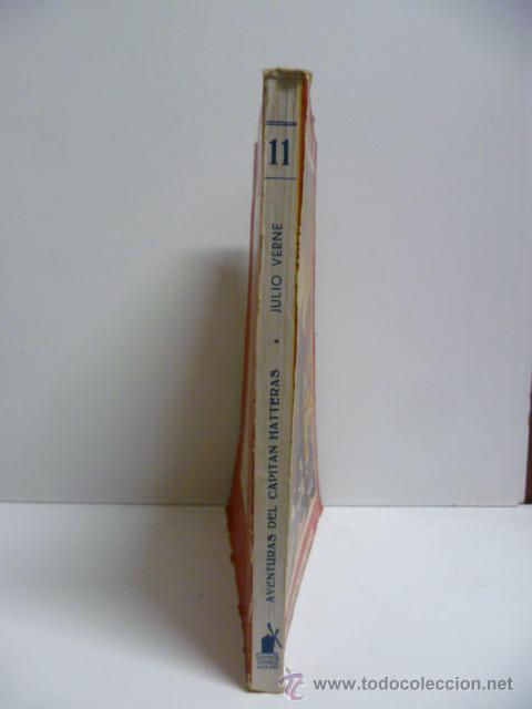 Libros antiguos: AVENTURAS DEL CAPITAN HATTERAS - JULIO VERNE - 1ª EDICION - 1935 - MOLINO - Foto 3 - 44822269