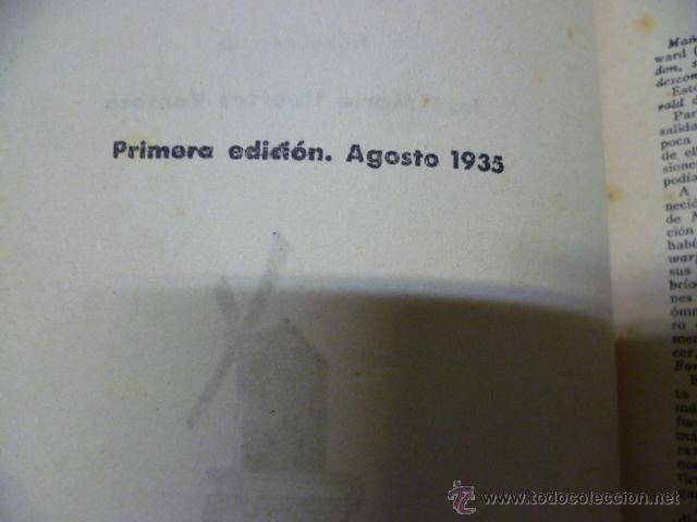 Libros antiguos: AVENTURAS DEL CAPITAN HATTERAS - JULIO VERNE - 1ª EDICION - 1935 - MOLINO - Foto 4 - 44822269