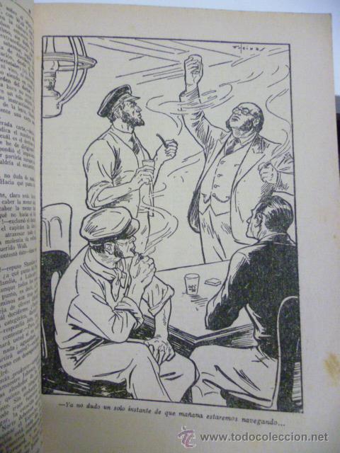 Libros antiguos: AVENTURAS DEL CAPITAN HATTERAS - JULIO VERNE - 1ª EDICION - 1935 - MOLINO - Foto 5 - 44822269