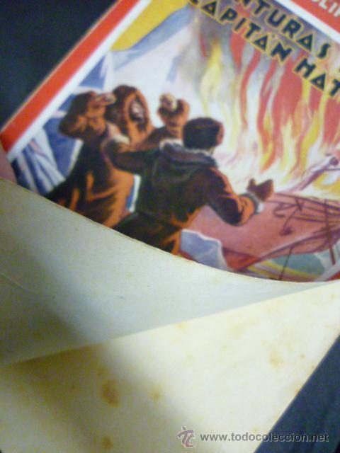 Libros antiguos: AVENTURAS DEL CAPITAN HATTERAS - JULIO VERNE - 1ª EDICION - 1935 - MOLINO - Foto 6 - 44822269