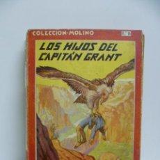 Libros antiguos: JULIO VERNE : LOS HIJOS DEL CAPITÁN GRANT (MOLINO, 1936). Lote 44822508