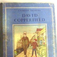 Libros antiguos: DAVID COPPERFIELD . CHARLES DICKENS . ED GORDINNE TAPAS DURAS FRANCES. Lote 44951257