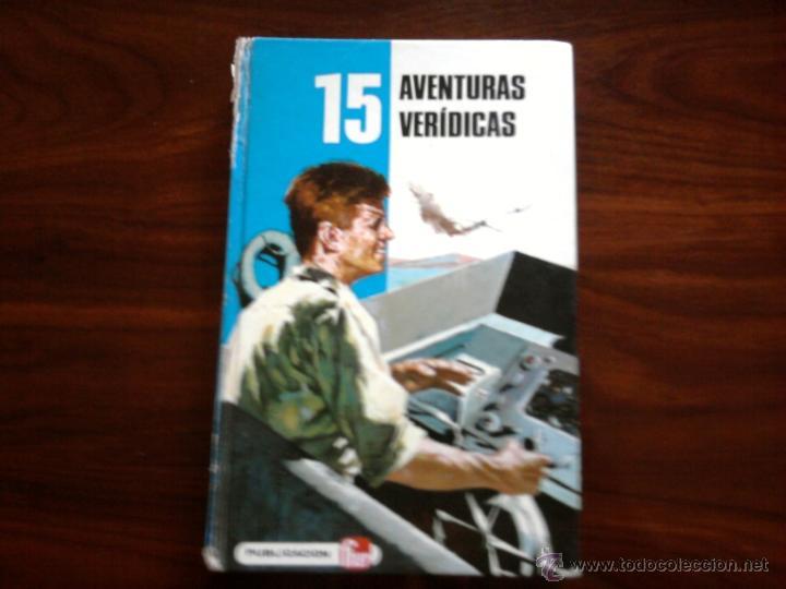 AVENTURAS VERIDICAS, EDITORIAL FHER S.A (Libros Antiguos, Raros y Curiosos - Literatura Infantil y Juvenil - Novela)