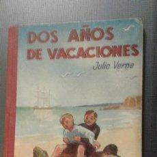 Libros antiguos: DOS AÑOS DE VACACIONES. JULIO VERNE EDITORIAL SAENZ DE JUBERA. Lote 46909361