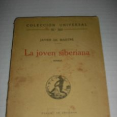 Libros antiguos: LA JOVEN SIBERIANA. Lote 46992976