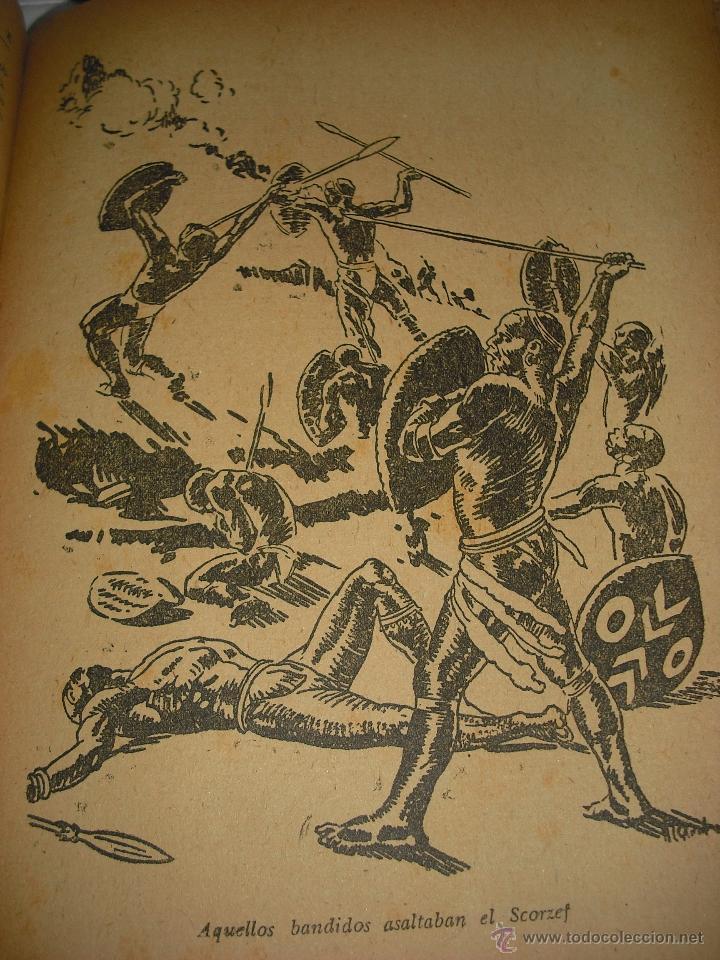 Libros antiguos: Aventuras de tres rusos y tres ingleses en el Africa austral - Julio Verne - Foto 3 - 47207462