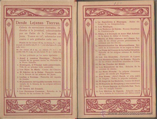 Libros antiguos: Los dos grumetes. José Spillman. B. Herder, Friburgo de Brisgovia. 3ª edición, c. 1921 - Foto 5 - 47939534