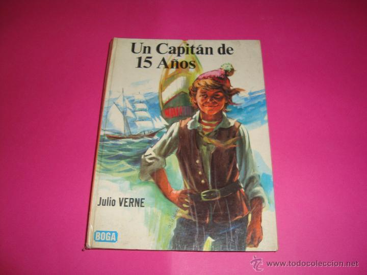LIBRO UN CAPITAN DE 15 AÑOS EDITORIAL BOGA (Libros Antiguos, Raros y Curiosos - Literatura Infantil y Juvenil - Novela)