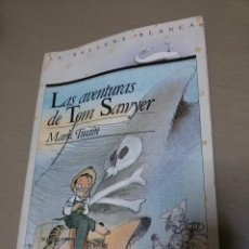 Libros antiguos: LAS AVENTURAS DE TOM SAWYER-MARK TWAIN-COLECC BALLENA BLANCA-EDICIONES SM-ILUSTRAC A COLOR(JOMA). Lote 47964919