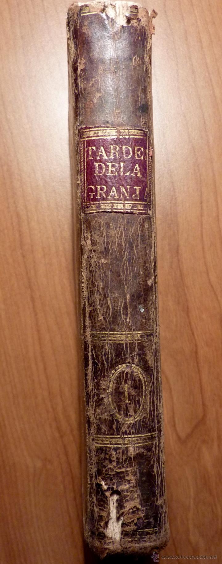 LAS TARDES DE LA GRANJA, V.RGUEZ DE ARELLANO, TOMO I 1803 (PRIMERA EDICION) (Libros Antiguos, Raros y Curiosos - Literatura Infantil y Juvenil - Novela)