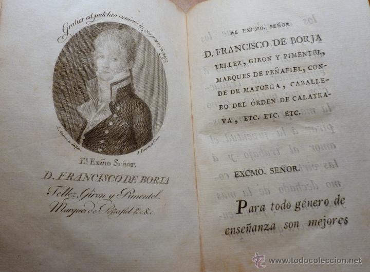 Libros antiguos: Las Tardes de la Granja, V.Rguez de Arellano, tomo I 1803 (primera edicion) - Foto 3 - 195787196