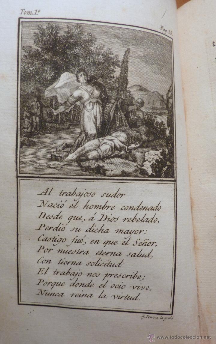 Libros antiguos: Las Tardes de la Granja, V.Rguez de Arellano, tomo I 1803 (primera edicion) - Foto 4 - 195787196