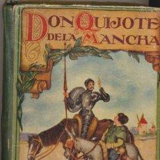 Libros antiguos: DON QUIJOTE DE LA MANCHA. EDICIÓN PARA NIÑOS. DALMAU CARLES EDITORES.. Lote 48117332
