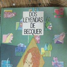 Libros antiguos: DOS LEYENDAS DE BECQUER-1984-LIBRO DE CROMOS-PINTORES-JOAQUIN SAENZ,JUAN ROMERO,LUIS BERMEJO,MIGUEL . Lote 48643630
