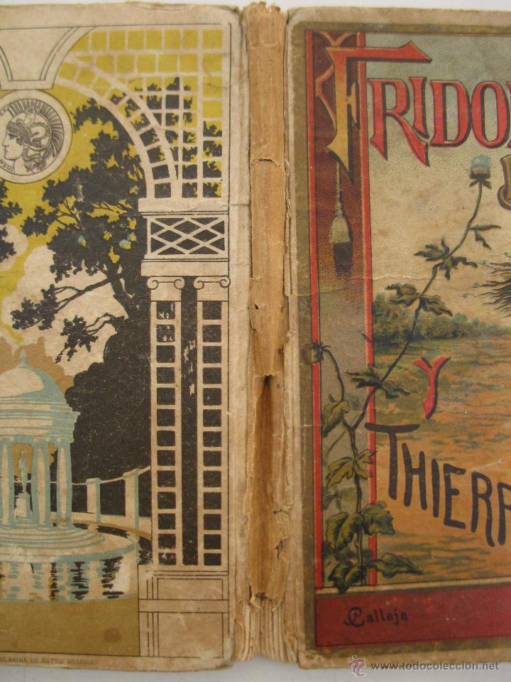 Libros antiguos: FRIDOLÍN EL BUENO Y THIERRY EL MALO - CRISTÓBAL SCHMID - BIBLIOTECA PARA NIÑOS Nº 25 - S. CALLEJA. - Foto 5 - 49180170
