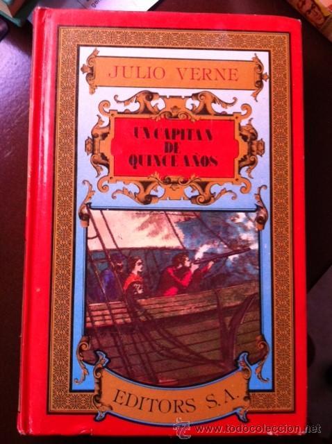 UN CAPITAN DE QUINCE AÑOS JULIO VERNE POR EDITORS, S.A. (Libros Antiguos, Raros y Curiosos - Literatura Infantil y Juvenil - Novela)