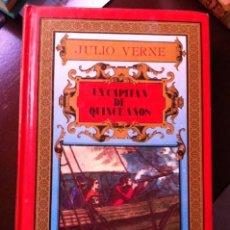 Libros antiguos: UN CAPITAN DE QUINCE AÑOS JULIO VERNE POR EDITORS, S.A.. Lote 49517585