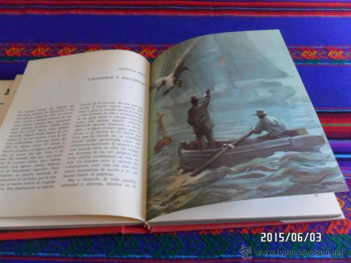 Libros antiguos: MOBY DICK SERIE AURIGA 1ª PRIMERA ED. 1964. REGALO AVENTURAS TOM SAWYER ED. BOGA 1ª ED 1973. - Foto 2 - 49684204