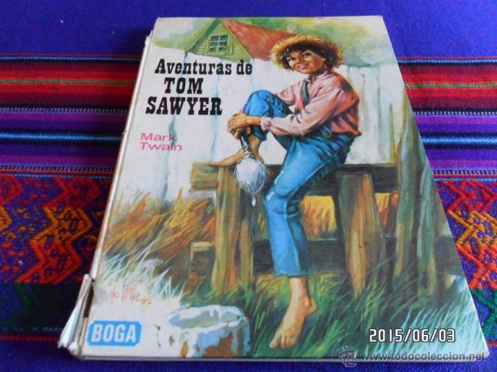 Libros antiguos: MOBY DICK SERIE AURIGA 1ª PRIMERA ED. 1964. REGALO AVENTURAS TOM SAWYER ED. BOGA 1ª ED 1973. - Foto 3 - 49684204