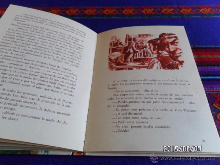 Libros antiguos: MOBY DICK SERIE AURIGA 1ª PRIMERA ED. 1964. REGALO AVENTURAS TOM SAWYER ED. BOGA 1ª ED 1973. - Foto 4 - 49684204