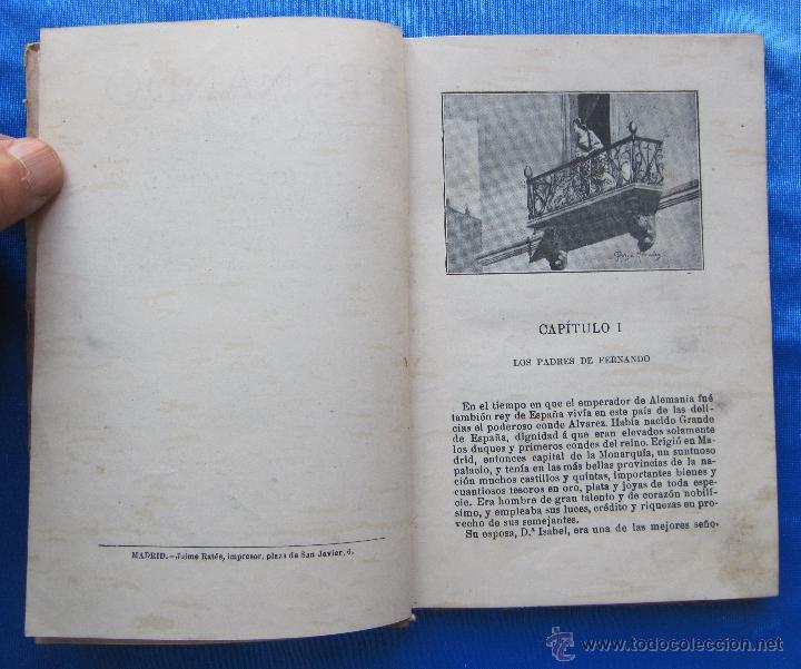 Libros antiguos: FERNANDO. POR CRISTOBAL SCHMID. EDITORIAL SATURNINO CALLEJA FERNÁNDEZ, MADRID, SIN FECHA. - Foto 4 - 49937699