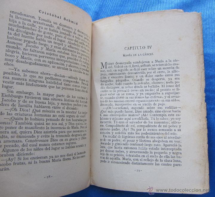 Libros antiguos: EL CANASTILLO DE FLORES. POR CRISTOBAL SCHMID. SATURNINO CALLEJA FERNÁNDEZ, MADRID, SIN FECHA. - Foto 4 - 49941351