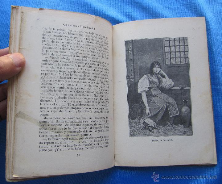 Libros antiguos: EL CANASTILLO DE FLORES. POR CRISTOBAL SCHMID. SATURNINO CALLEJA FERNÁNDEZ, MADRID, SIN FECHA. - Foto 5 - 49941351