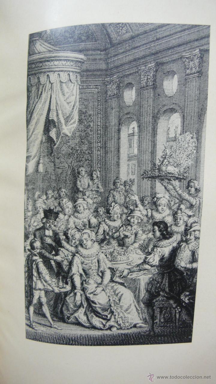 Libros antiguos: NOVELAS EXEMPLARES DE MIGUEL DE CERVANTES. FACSÍMIL DE LA EDICIÓN DE 1613. ILUSTRADO. - Foto 6 - 50123245