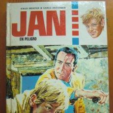 Libros antiguos: LIBRO JAN EN PELIGRO (1973) DE KNUD MEISTER Y CARLO ANDERSEN. EDICIONES TORAY. NUEVO. Lote 53494951