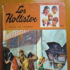 Libros antiguos: LIBRO LOS HOLLISTER CONTRA LOS LADRONES Nº 21 (1982) DE JERRY WEST. EDICIONES TORAY. Lote 50447288