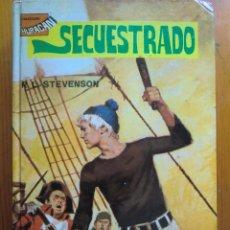 Libros antiguos: LIBRO SECUESTRADO Nº 12 (1980) DE ROBERT L. STEVENSON. TORAY. COLECCIÓN HURACÁN. COMO NUEVO. Lote 50447572