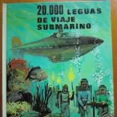 Libros antiguos: LIBRO 20000 LEGUAS DE VIAJE SUBMARINO (1986) DE JULIO VERNE. EDICIONES EDIVAS. COMO NUEVO. Lote 50447959