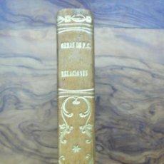 Libros antiguos: CALLAR EN VIDA Y PERDONAR EN MUERTE. RELACIONES. FERNAN CABALLERO. 1861. 2 TOMOS EN 1 VOLUMEN.. Lote 51040833