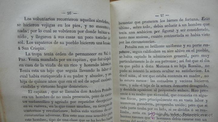 Libros antiguos: CALLAR EN VIDA Y PERDONAR EN MUERTE. RELACIONES. FERNAN CABALLERO. 1861. 2 TOMOS EN 1 VOLUMEN. - Foto 3 - 51040833