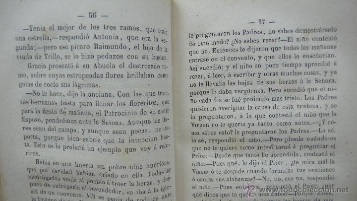 Libros antiguos: CALLAR EN VIDA Y PERDONAR EN MUERTE. RELACIONES. FERNAN CABALLERO. 1861. 2 TOMOS EN 1 VOLUMEN. - Foto 4 - 51040833