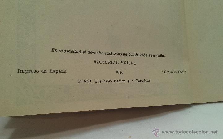 Libros antiguos: LIBRO - LA TRAMPA DEL PETROLEO - POR KARL MAY - COLECCION MOLINO - AÑO 1954 - Foto 2 - 51052345