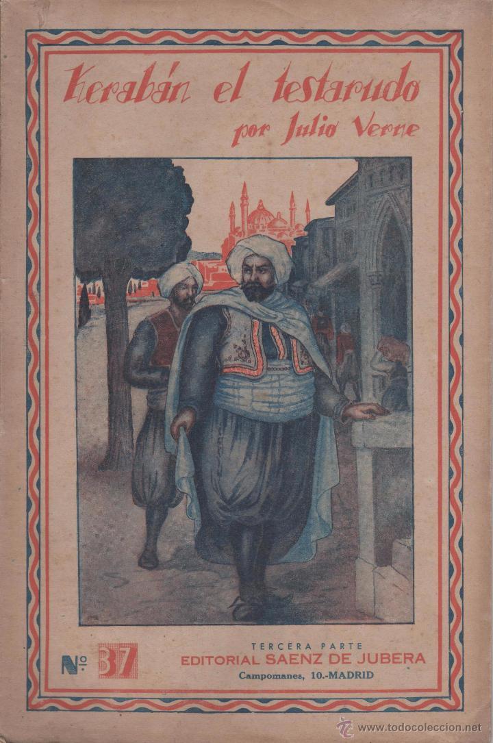 KERABAN EL TESTARUDO. (3 FOLLETOS) OBRA ESCRITA POR JULIO VERNE. (Libros Antiguos, Raros y Curiosos - Literatura Infantil y Juvenil - Novela)