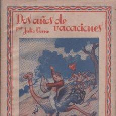 Libros antiguos: DOS AÑOS DE VACACIONES - JULIO VERNE - DOS CUADERNOS - BUEN ESTADO - SAENZ DE JUBERA. Lote 51638659