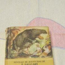 Libros antiguos: M69 LIBRO LOS MISTERIOS DE LA SELVA EDITORIAL CALLEJA COLECCION NOVELAS DE AVENTURAS E. SALGARI. Lote 52311761